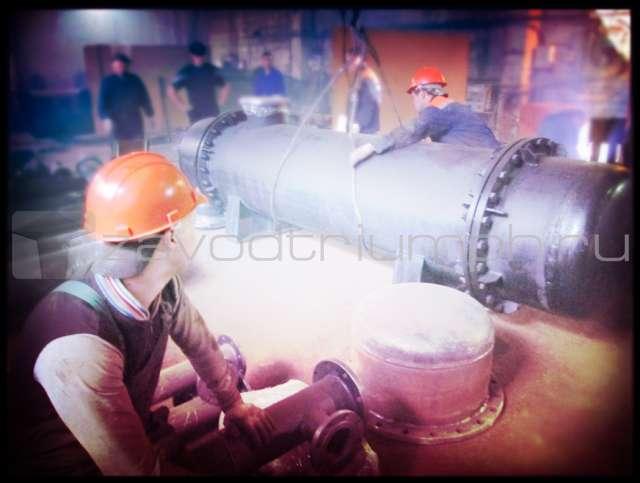 Завод производство теплообменников Кожухотрубный конденсатор ONDA L 17.307.1524 Новый Уренгой