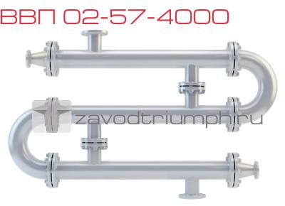 Водоводяной подогреватель ВВП 02-57-4000 Москва Пластинчатый теплообменник Sondex SF53 Одинцово