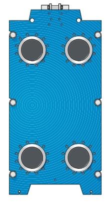 Пластины теплообменника Tranter GX-060 P Москва Кожухотрубный жидкостный ресивер ONDA RL 25 Юрга